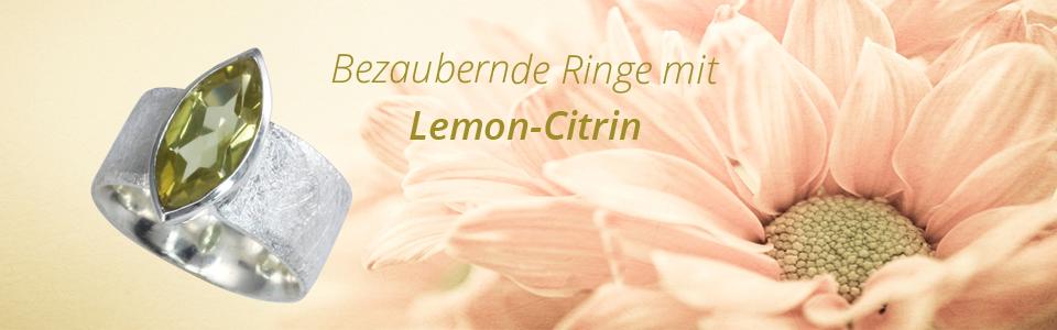 Schmuck mit Lemon-Citrin
