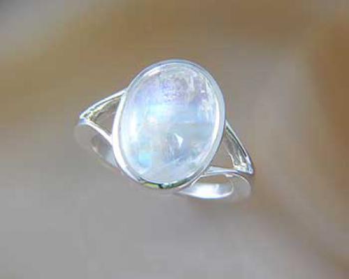 Mondstein  Grosser Mondstein Ring | 925 Silber | ALUNA-Schmuck.de ...
