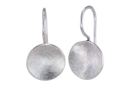 2452b1ef674e1 Ohrringe Ohrhänger Silber 925  Devi  eismattiert gebürstet