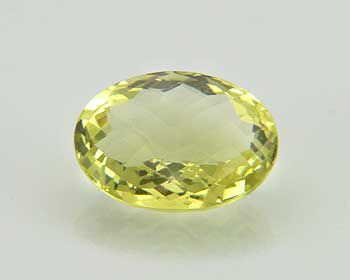 Lemon Quarz Brioletschliff 15,00 ct.