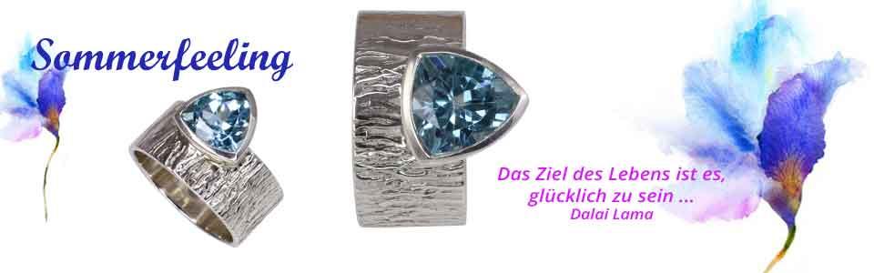 Blautopas - Ringe
